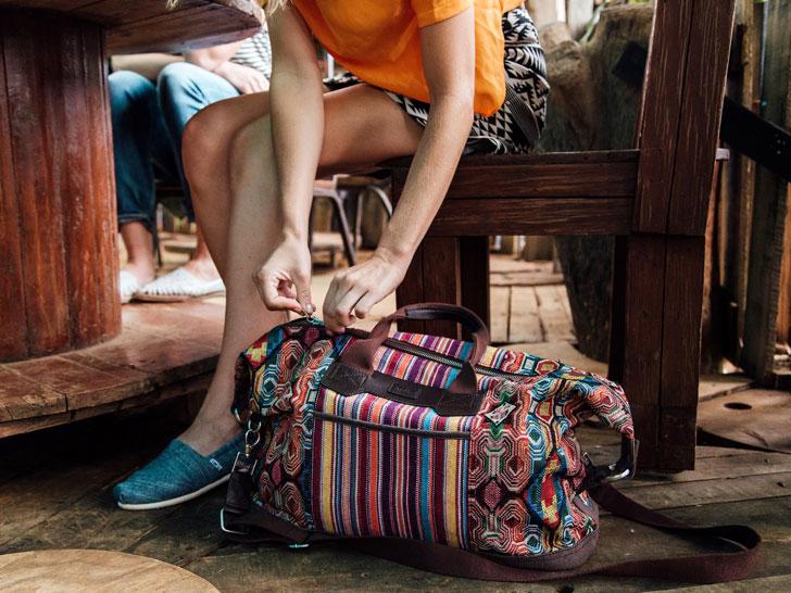 Tom's Bags Help Safer Births