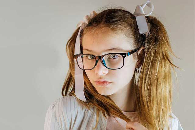 eye doctor, girl with glasses in Hoffman Estates, IL