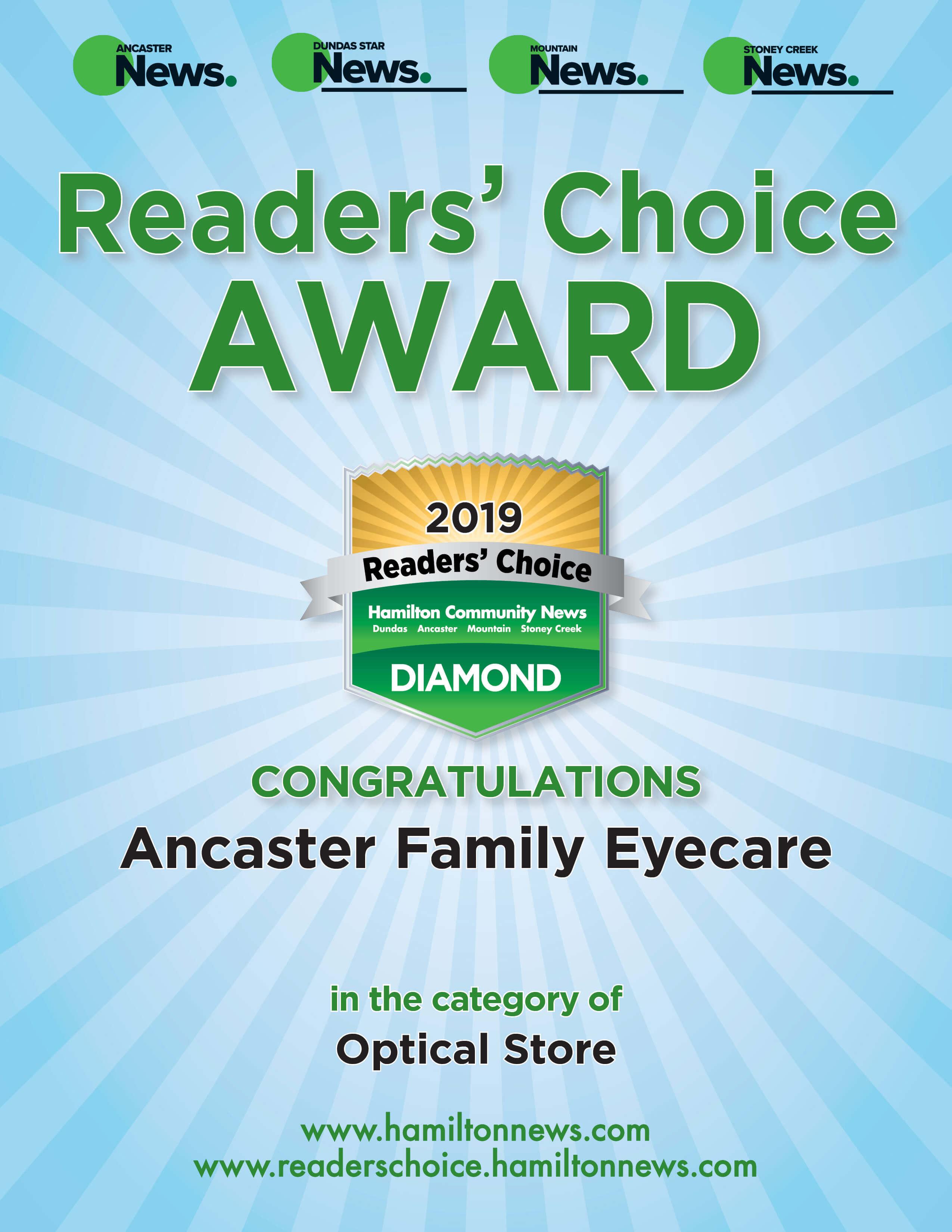 Best Optcal Award