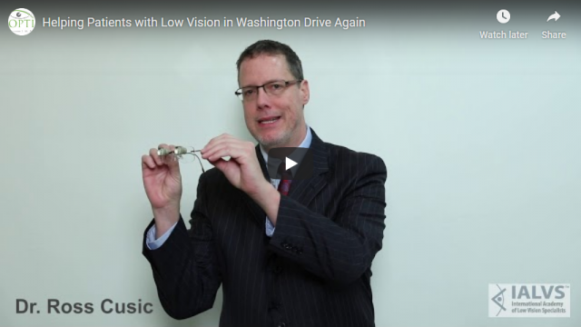 Screenshot 2019 07 19 Helping Patients with Low Vision in Washington Drive Again YouTube