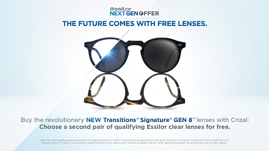 ESSILOR Next GEN Offer Key Visual