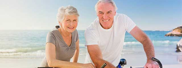 an old couple seaview bicycle 640x240