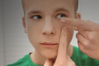 Teen Boy Contact Lens