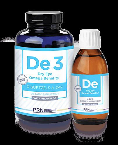 De3 Dry Eye Omega Benefits (Liquid)
