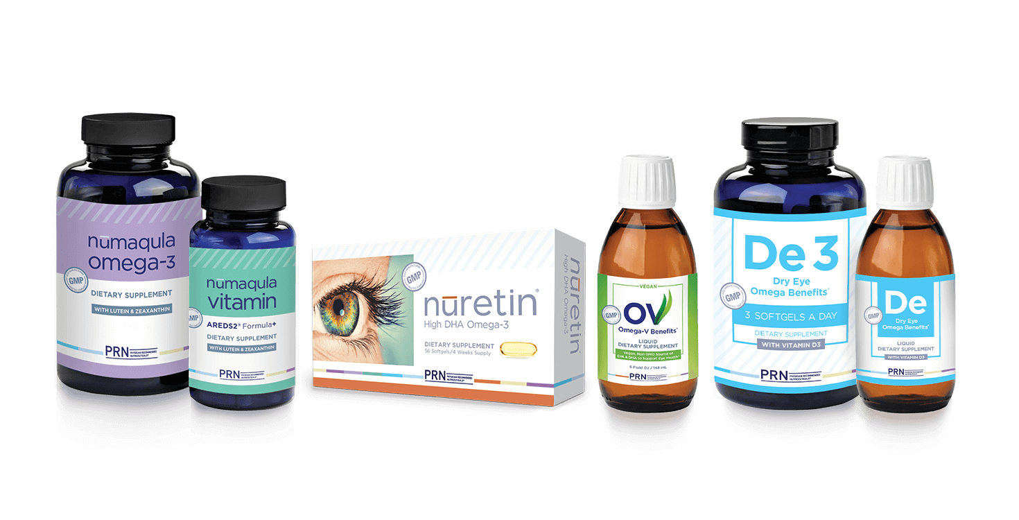 Our selection of eye care vitamins and supplements