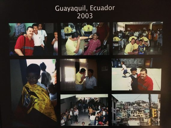 Dr. Malara's Mission Trip in Guayaquil, Ecuador 2003