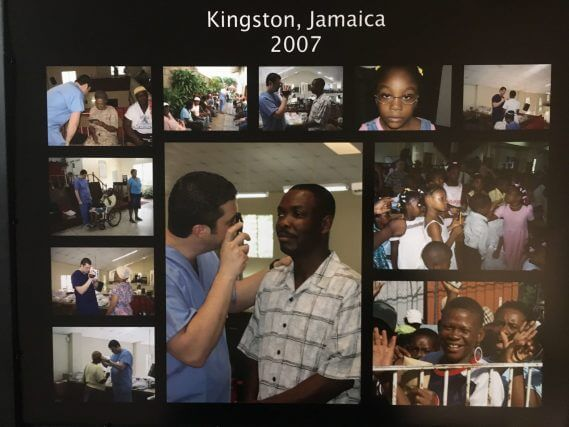 Dr. Malara's Mission Trip in Kingston, Jamaica 2007