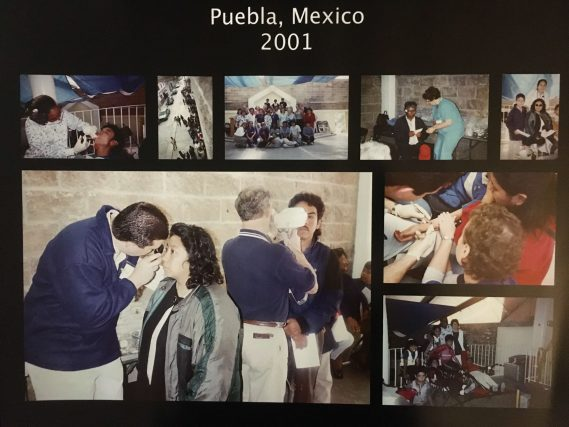 Dr. Malara's Mission Trip in Pueblo, Mexico 2001