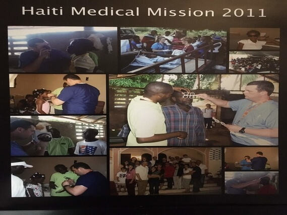 Dr. Malara's Mission Trip in Haiti in 2011