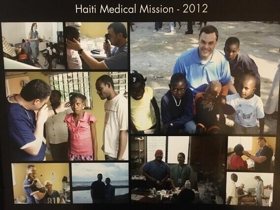 Dr. Malara's Mission Trip in Haiti in 2012