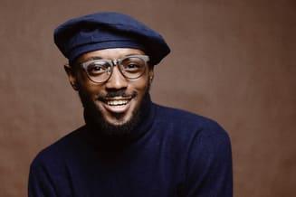 African-American Man Wearing Eyeglasses in Kyle, TX