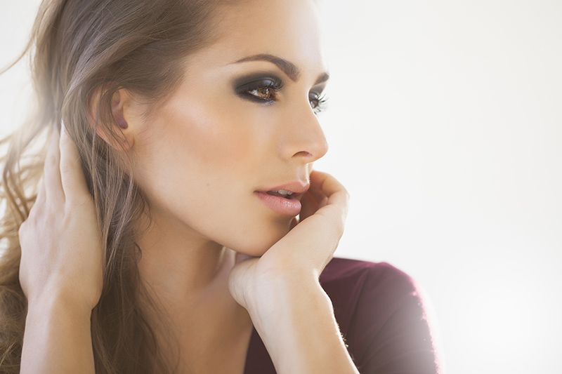 Beautiful Dreamy Woman