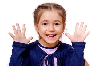 Girl Happy Surprised