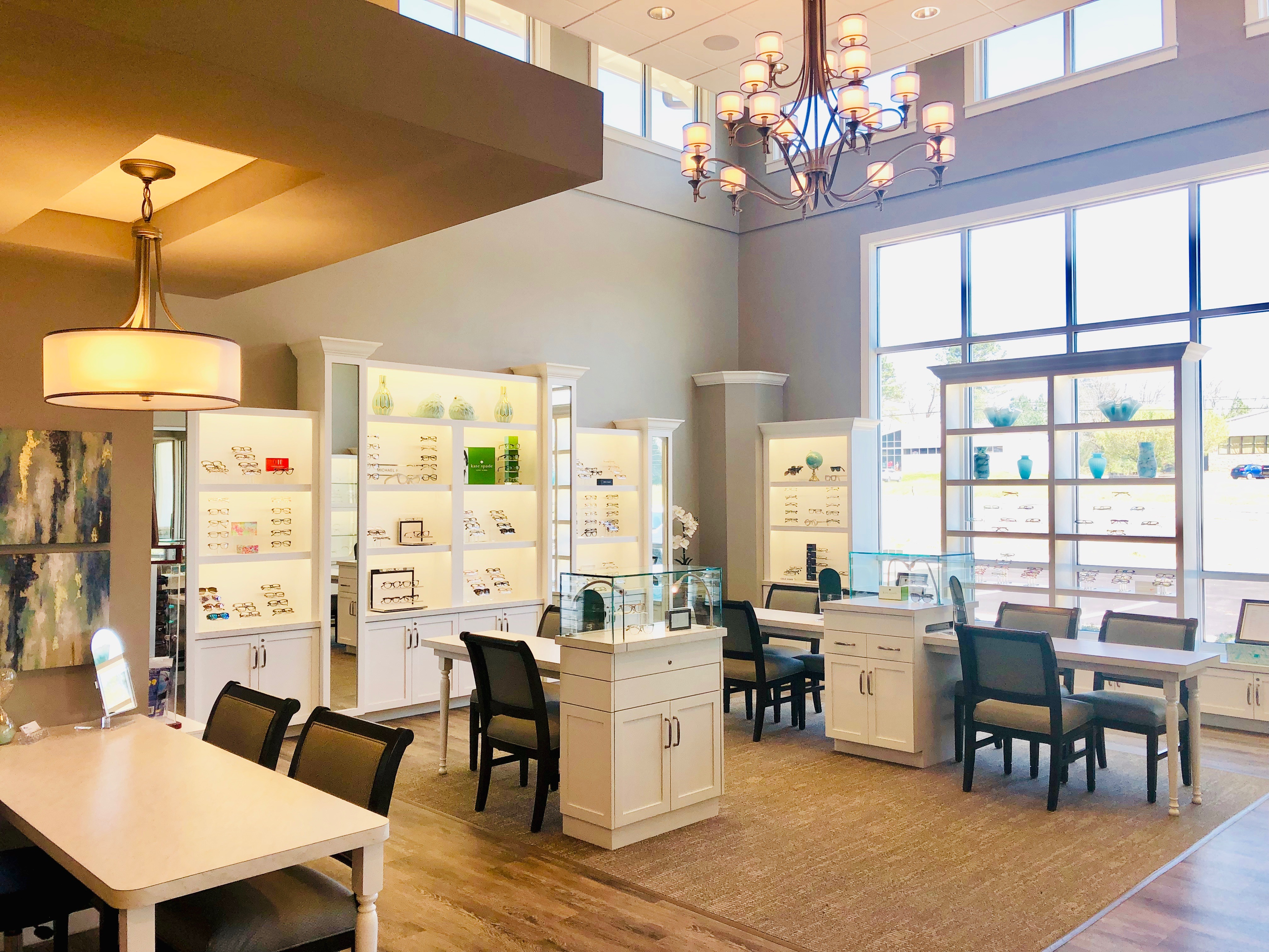 Inside our Athens eye care center
