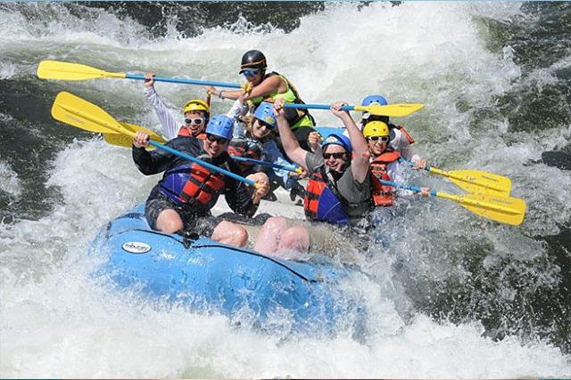 Eye doctor, Water Rafting group wearing sunglasses in Cedar Park, TX