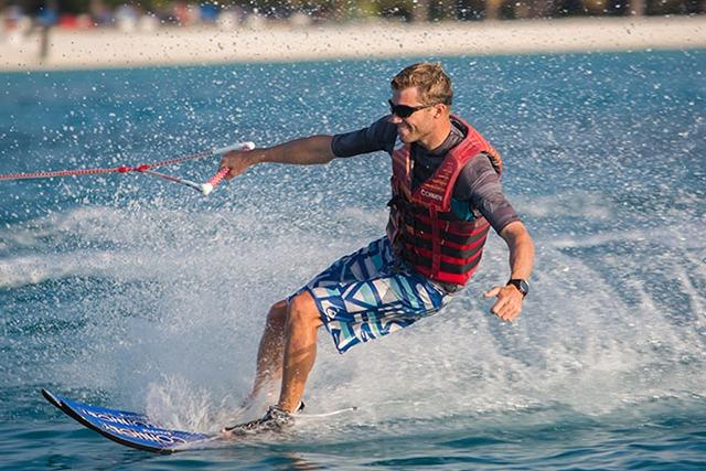 Optometrist, Water Skiing man wearing sunglasses in Cedar Park, TX