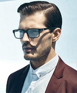 Optometrist, Model wearing Guess eyeglasses in Hattiesburg, MS