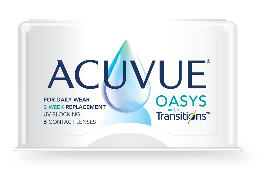 Eye doctor, ACUVUE OASYS with Transitions in Phoenix, Tempe & Scottsdale, AZ