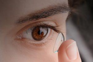 Girl Eye Contact Lens 300x200