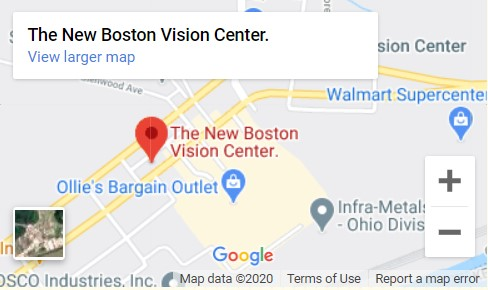 The New Boston Vision Center Map