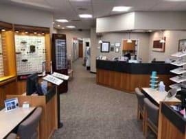 Inside our Glastonbury eye care clinic