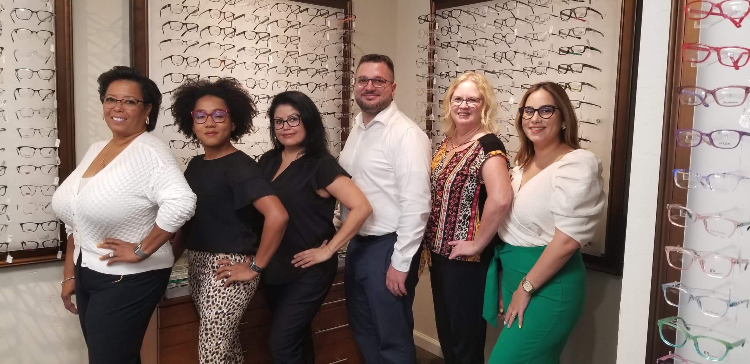 Our Optical Team in Lantana, Florida