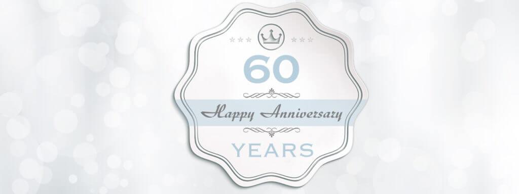 60th Anniversary emblem, Lantana, Florida