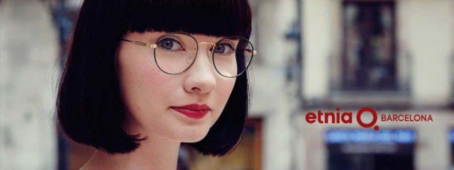 Woman wearing Etnia Barcelona Eyewear, Eye Care in Lantana, FL