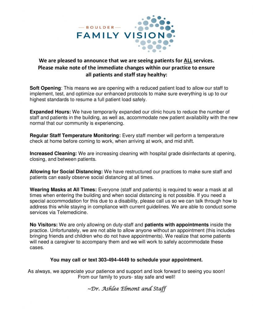 Boulder Family Vision Website Notification (1)