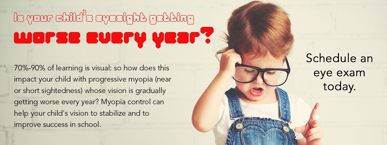Myopia Control Glasses Slide