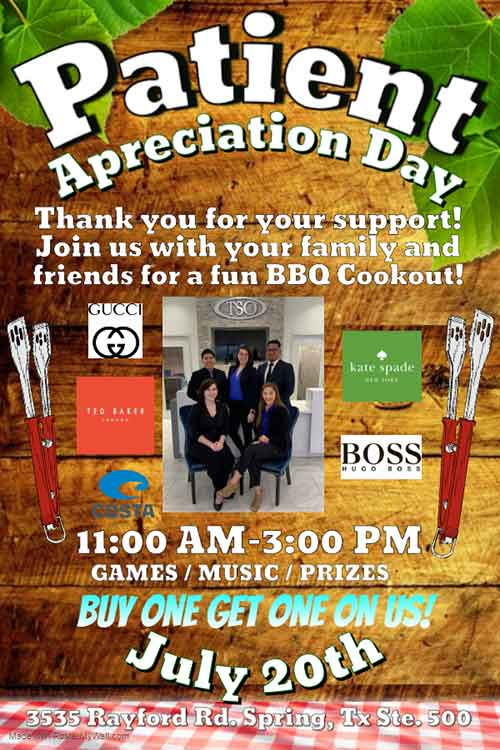 bbq cookout event july 20th
