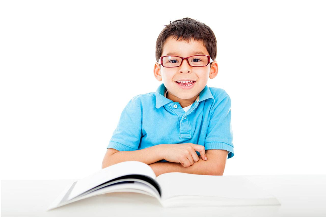 A child reading a book, Eye Care in Alpha, NJ
