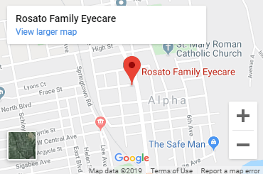Your eye care clinic in Alpha - Rosato Family Eyecare