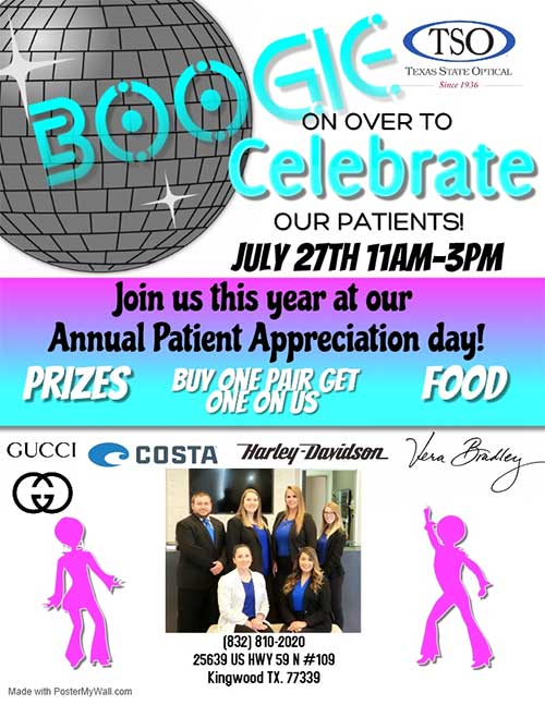 patient appreciation event july 27th
