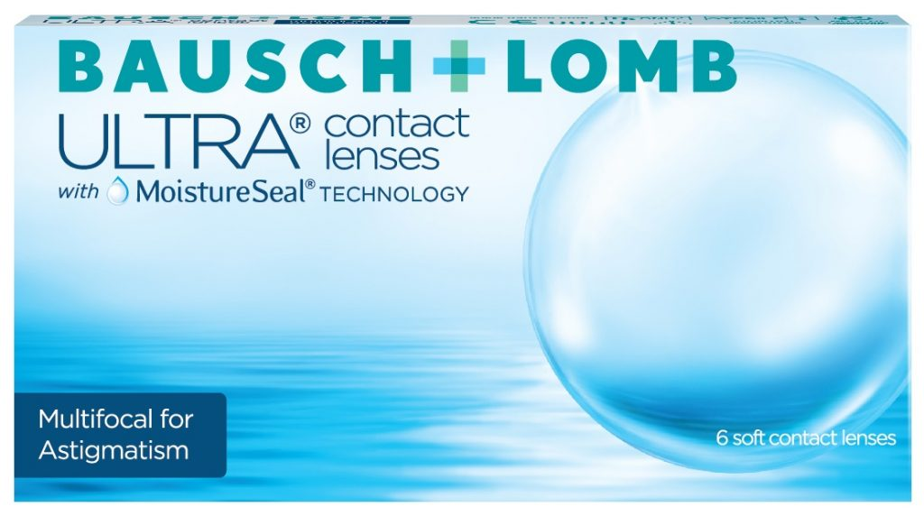 ULTRA Multifocal for Astigmatism contact lenses