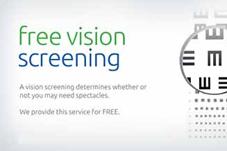 free vision screening suglarland