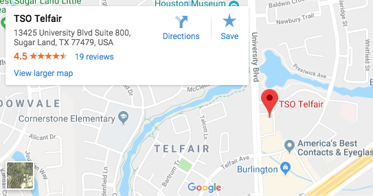 TSO Telfair Google Maps