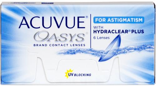 Acuvue for Astigmatism shotwell tx