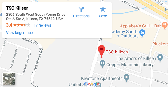 TSO Killeen Map