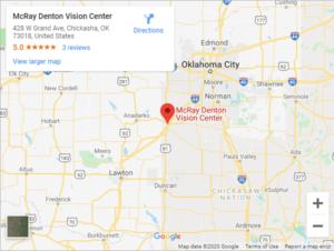 McRay Denton Vision Center Google Maps (1)