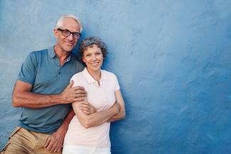 happy senior couple 325×217