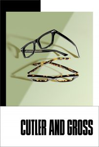 Cutler and Gross Glasses CA