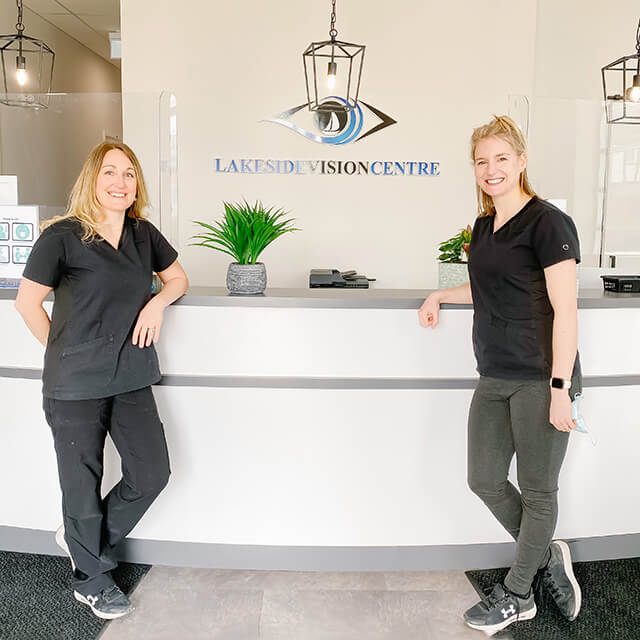 contact our optometry team