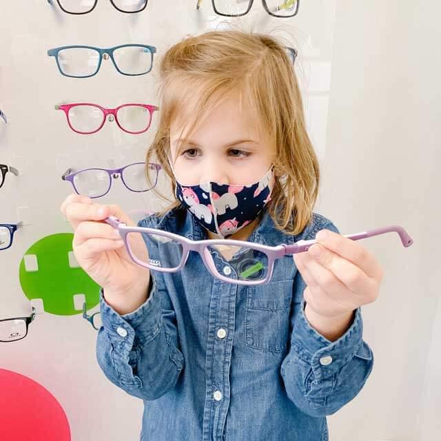 little girl pediatric glasses