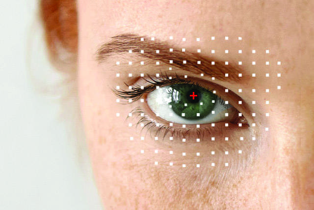 Woman's eye, ad for Eye Care Emergencies in Fuquay Varina