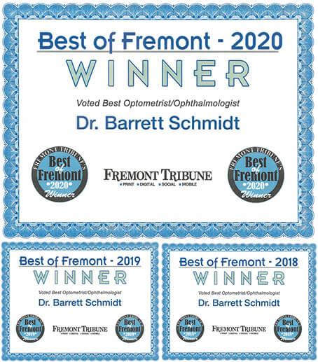 Best of Freemont 2020 badge