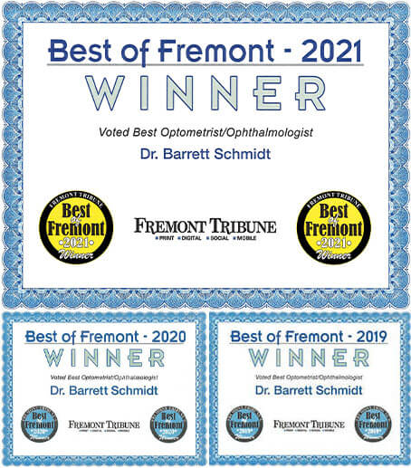 Best of Freemont 2021 badge