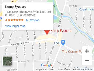 Kemp Eyecare Google Maps
