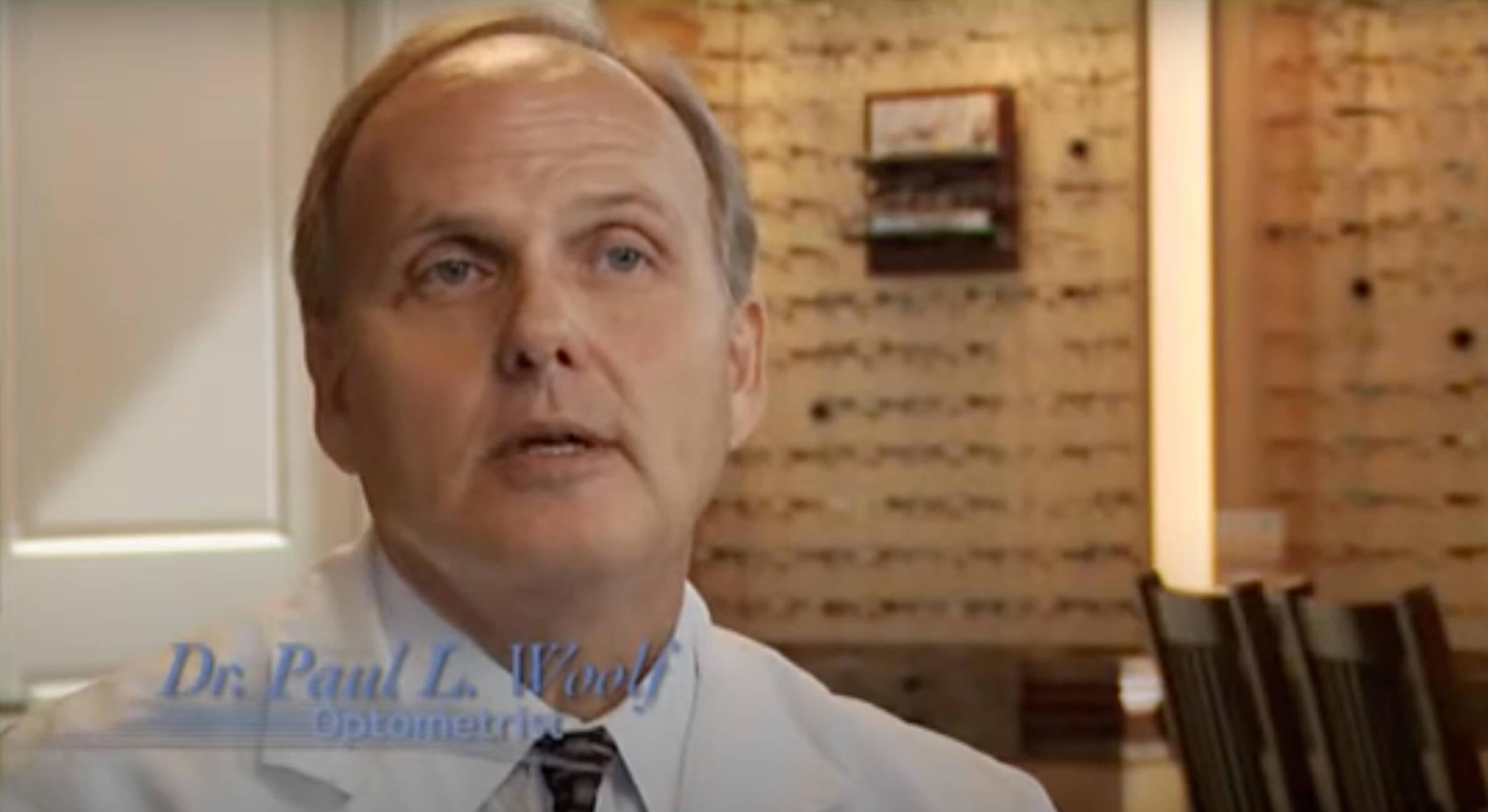 dr woolf eye exam