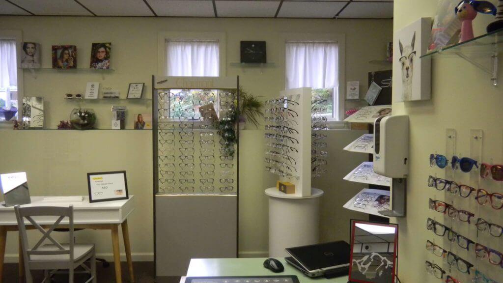 Optical department in Bristol, CT